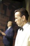 Le chiffre de cire de Humphrey Bogart Image libre de droits