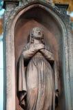 Le chiffre de la Vierge, comme symbole de l'amour et de l'intervention o Photos stock