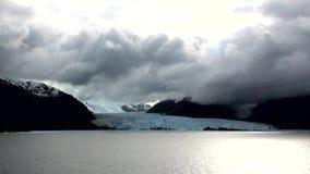 Le Chili - l'Amalia Glacier Landscape banque de vidéos