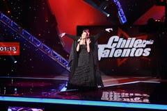 Le Chili País de Talentos Semifinal Photographie stock libre de droits