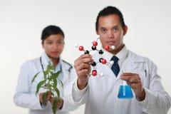 Le chimiste deux Photographie stock libre de droits
