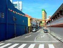 Le Chinatown à Singapour photo libre de droits