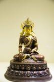 Le Chinois de l'Asie, Pékin, Musée National, Art Biennale contemporain, sculptures en bronze, le Bouddha a eu Image libre de droits