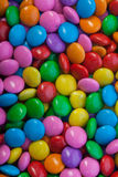 Le chocolat boutonne le plan rapproché Images stock