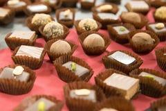 Le chocolat danois délicieux Images stock