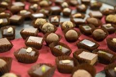 Le chocolat danois délicieux Photographie stock
