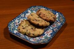 Le chocolat expédie le biscuit Photographie stock libre de droits