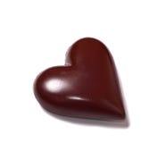 Le chocolat heart Image stock