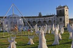 Le choeur d'Angelsâ, villa Manin, Italie Image libre de droits