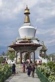 Le Chorten commémoratif national situé à Thimphou, la capitale du Bhutan image stock