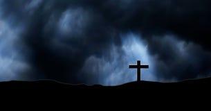 Le chrétien croise des tombes Photographie stock libre de droits