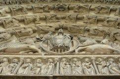 Le Christ à Chartres Image stock