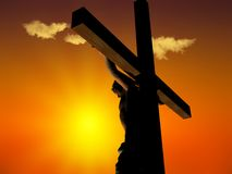 Le Christ Image libre de droits