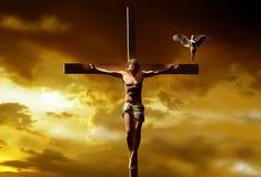 Le Christ illustration stock