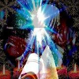 Le Christ de Noël Image libre de droits