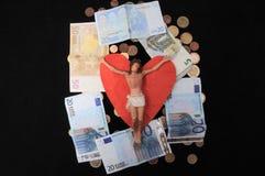 Le Christ et argent Photo stock