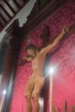 le Christ Jésus en travers Image libre de droits