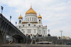 Le Christ la cathédrale de sauveur, Moscou Photographie stock