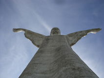 Le Christ le rédempteur, Maratea image stock