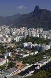 Le Christ le rédempteur - Rio de Janeiro - Brésil Images libres de droits