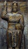 Le Christ le roi photographie stock libre de droits