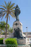 Le Christ le Roi Monument en Floriana Near Valletta photos libres de droits