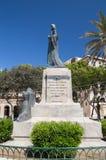 Le Christ le Roi Monument en Floriana Near Valletta photos stock