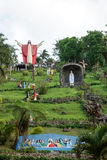 «Le Christ montant» au tombeau de Ni Hesus de Kamay dans Lucban Photo libre de droits