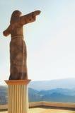 Le Christ monumental aux collines d'Atachi Taxco, Mexique photo libre de droits