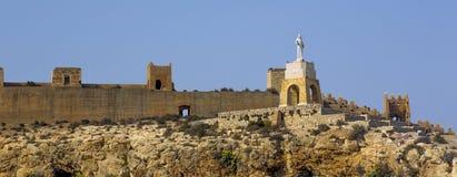 Le Christ San Cristobal de Almeria Photos stock