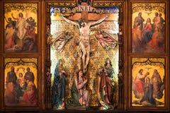 Le Christ sur la croix Photographie stock