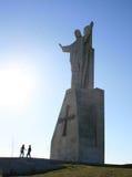 Le Christ sur le bâti Naranco Image libre de droits
