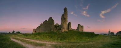 Le château de Branc - la Slovaquie Photos libres de droits