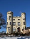 Le château irlandais de Chicago Photos libres de droits
