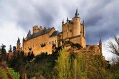 Alcazar de Ségovie, Espagne Photo libre de droits
