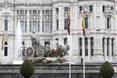 Le Cibeles, Madrid, Espagne Photo stock