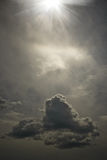 Le ciel étrange Image libre de droits