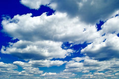 Le ciel Image stock