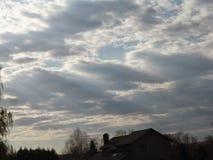 Le ciel Photos stock