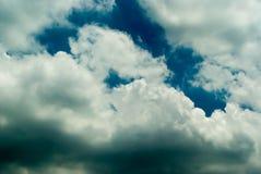 Le ciel avant forte pluie Photo libre de droits