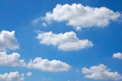 Le ciel bleu Photographie stock