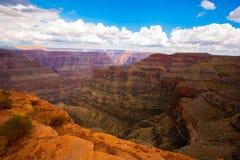 Les roches colorées en canyon grand du Colorado Photo libre de droits