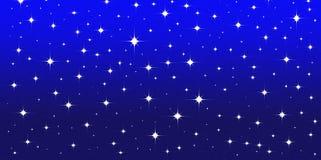 Le ciel d'étoile Images libres de droits
