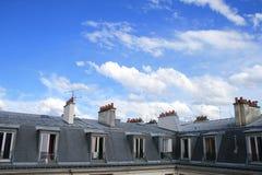 Le Ciel De Paryż Zdjęcia Stock