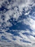 Le ciel dehors Photo libre de droits