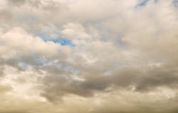 Le ciel du diable Photographie stock libre de droits