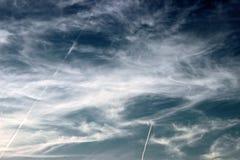 Le ciel du diable Images libres de droits