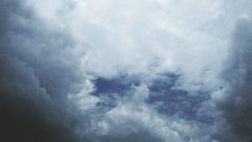Le ciel du diable image libre de droits