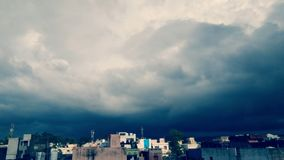 Le ciel du diable Photos stock