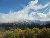 Le ciel du Yukon Image libre de droits